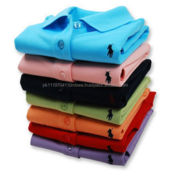 Solid Pattern - Small Pony - Polo Shirts
