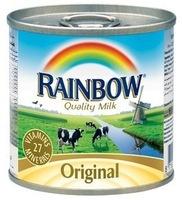 Rainbow Evaporated Milk for export