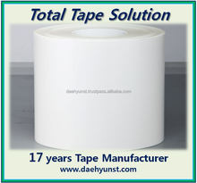 Matt type Silver PET film/tape for label (used for electronics & appliances)