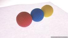 NR Sponge Golf Ball (3-in-1)