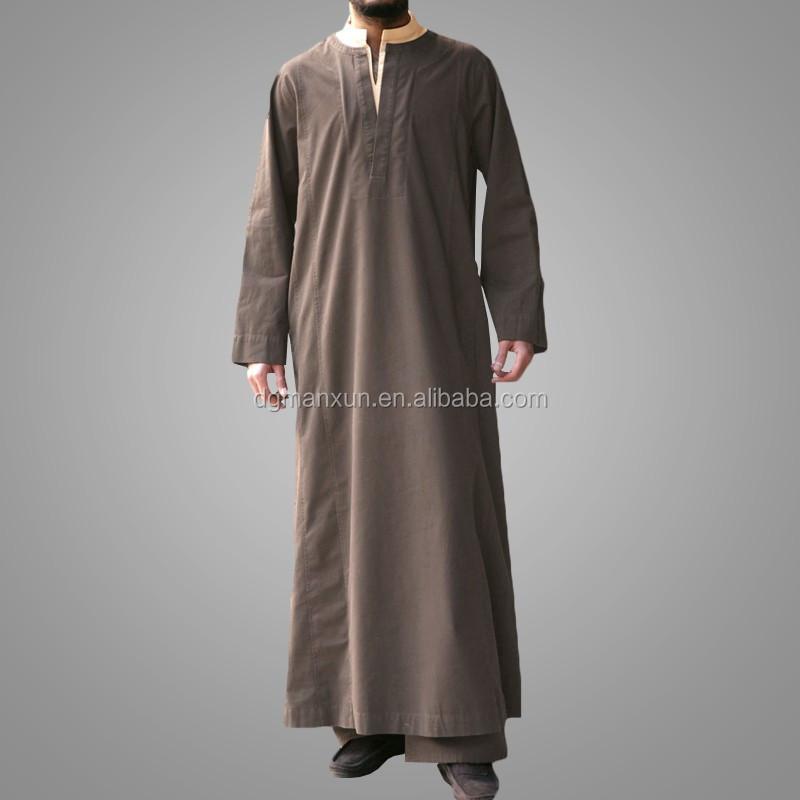 New design men thobe islamic thobe dubai men abaya2.jpg