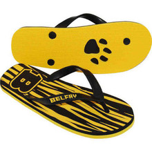 Newport 2-Layer Zori Flip Flop Sandal with Natural Rubber Straps