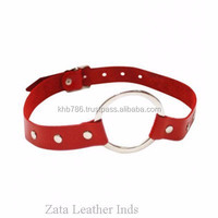 2015 new arrival leather belt open mouth gag sex toy wholesale, sex toys