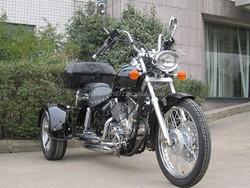 250cc Trike Chopper Style 3 Wheels Motorcycle