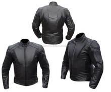 Leather motorcycle Jacket for Suzuki biker