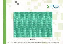 Sun shade net for agriculture