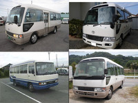 Reliable and Low cost used toyota coaster buses for sale with good fuel economy made in Japan