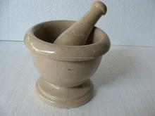 Mortar and Pestles Verona Beige Marble