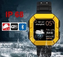 Ip68 Waterproof Rugged Android Smart Watch Phone