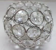 Table crystal votive crystal chandelier candle holders crystal votive holders for wedding