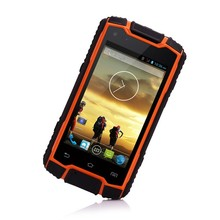 Cheap smartphone android 4.2 MTK6582 quad core mobile phone waterproof IP68 rugged mobile phone outdoor use GPS WIFI BT PTT