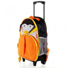 Student Trolley School Bag Rolling Luggage Backpack Penguin