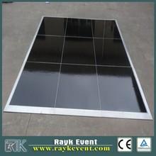 economic used glass dance floor