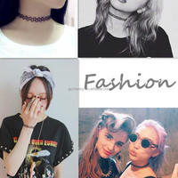 2015 Hot New Fashion Jewelry Fishing Line Weave Tattoo Choker Necklace Gift For Women Girl Lovers