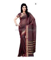 Bengal Cotton Sarees   Cotton Sarees Designs   Fancy Cotton Sarees