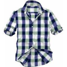 2015 Summer Clothes Short Sleeve Shirt For Men / Solid Color Mens Casual Shirt / Custom Fit Mens Summer Shirt