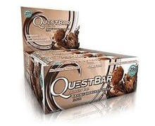 Quest Protein Bars - sweetened with Stevia & Collections Erythritol - Box 12