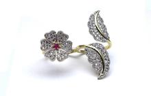 Best Price Fashion Jewelry American Diamond Designer Charm Ring