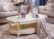 living room solid wood center tea table