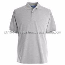 High quality grey short sleeve polo shirt