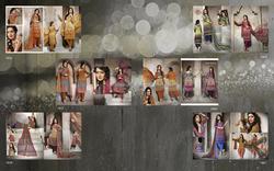 Pashmina With Digital Print Dress Material