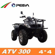 (PEDA Motor) 2015 new ATV 4*4 Quad for sale 300cc water cooling (ATV 300)