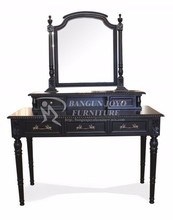 Hot sell modern dressing table with mirror
