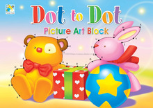A4 Picture Art Blocks - FA6210 Dot to Dot Picture Art Block