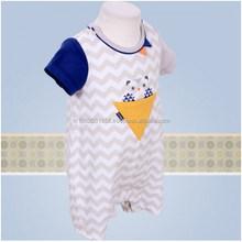Korea Babyprime 2015 Summer Baby Boy Clothing, Ali union suit with short sleeves