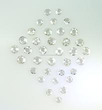 Natural Loose Diamond ,VS SI Near White I-J Diamond Old Rose Cut Round Chakri 2.50 mm size 2 carat lot