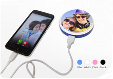 5200mAh USB Portable Battery Charger Power Bank For Cell Phone, sublimation printable power bank