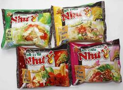 "Beef, Chicken flavour Instant Rice Noodles ""Hu Tieu "" Vietnamese, VI HUONG BRAND"