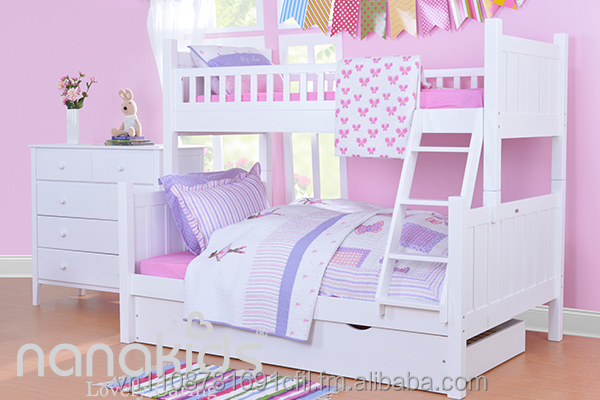 Jayden Twin Full Bunk Bed Buy Wooden Bunk Bed Product On