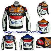 Repsol Motorcycle Racing Leather Jacket, Genuine Leather Motorbike/Motorcycle/Biker Leather Jackets, Motorbike Leather Jacket