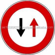 Aluminium Road Sign Board , Traffic Reflective Signs