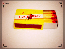 Cardboard and Wooden Kitchen safety match boxes with Carbonized Sticks supply from India