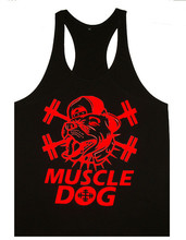 LOW MOQ Custom Print Your Logo real quality Wholesale stringer tank top for men