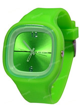 Silicone Colorful Jelly Watch wrist watch