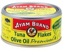 Ayam Brand Tuna Flakes in Olive Oil Premium 150g