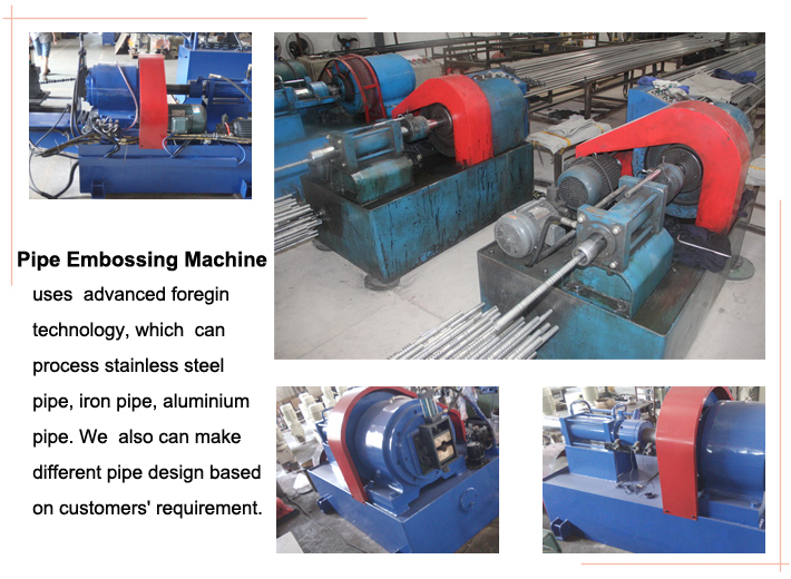 the details of pipe/tube designing machine