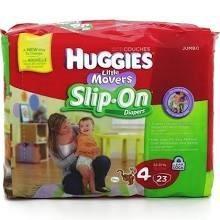 HUGGIES BABY DIAPERS SLIP ON