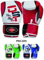Special Muay Thai MMA Boxing Gloves PRG-3213 White Training Sparring Gloves 8- 16 oz