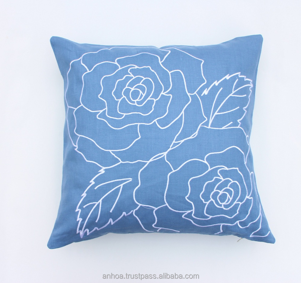 Latest Design Pillow CoverHandmade Embroidery Cushion Cover - Buy Latest Design Cushion Cover ...