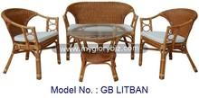 new antique rattan funiture, indoor home furniture