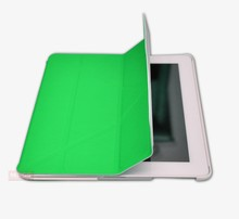 Suitable For IPad 1/2 Smart Magnetic Case Cover Auto Sleep and Wake Up Function Foldable Stand Mount Impact Resistant Green
