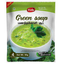 Natural and herbal Green Soup at your door step