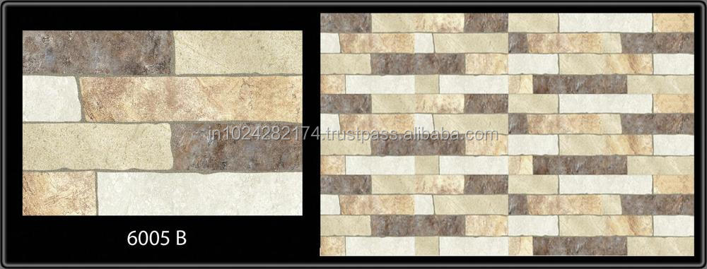 Front Elevation Ceramic Tiles : Elevation exterior wall tiles in india mm buy