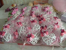 wedding decoration and gift Wicker heart