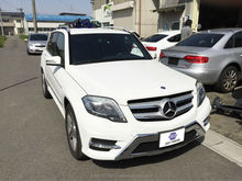 Used Mercedes-Benz GLK350 cars and used car spare parts in Japan