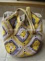 venta caliente de laindia hecho a mano crochet bolsos de mano